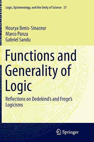 Bog, paperback Functions and Generality of Logic af Hourya Benis-Sinaceur