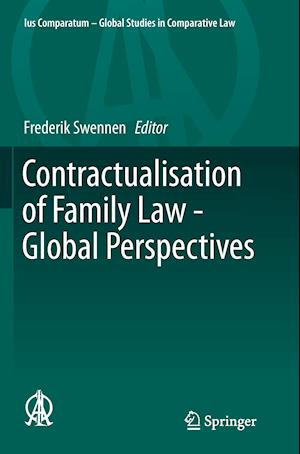 Bog, paperback Contractualisation of Family Law - Global Perspectives af Frederik Swennen
