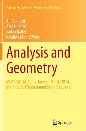 Bog, paperback Analysis and Geometry af Ali Baklouti