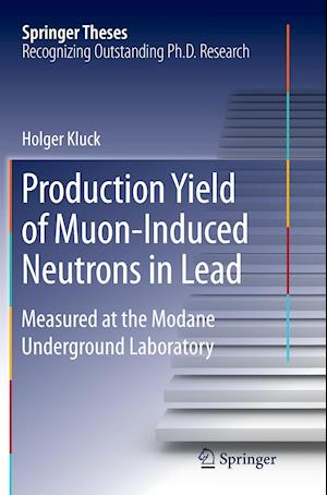 Bog, hæftet Production Yield of Muon-Induced Neutrons in Lead : Measured at the Modane Underground Laboratory af Holger Kluck