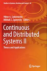 Continuous and Distributed Systems II (Studies in Systems Decision and Control, nr. 30)