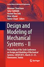 Design and Modeling of Mechanical Systems (Lecture Notes in Mechanical Engineering)