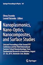 Nanoplasmonics, Nano-Optics, Nanocomposites, and Surface Studies (SPRINGER PROCEEDINGS IN PHYSICS, nr. 167)
