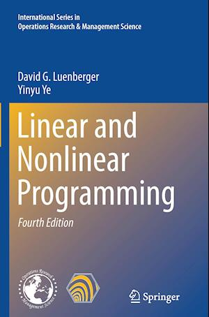 Bog, paperback Linear and Nonlinear Programming af David G. Luenberger