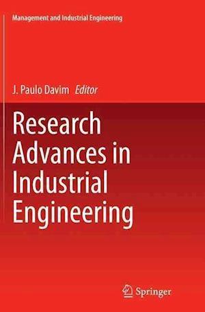 Bog, paperback Research Advances in Industrial Engineering af J. Paulo Davim
