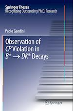 Observation of CP Violation in B+/- â   DK+/- Decays af Paolo Gandini