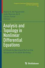 Analysis and Topology in Nonlinear Differential Equations (PROGRESS IN NONLINEAR DIFFERENTIAL EQUATIONS AND THEIR APPLICATIONS, nr. 85)