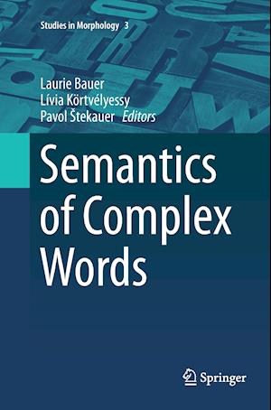 Semantics of Complex Words