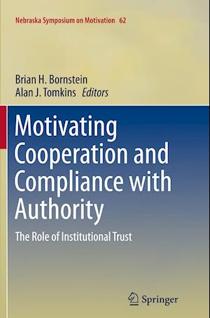 Bog, paperback Motivating Cooperation and Compliance with Authority af Brian H. Bornstein