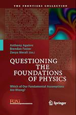 Questioning the Foundations of Physics (The Frontiers Collection)
