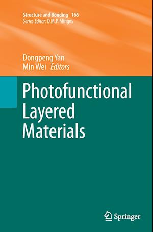 Bog, hæftet Photofunctional Layered Materials