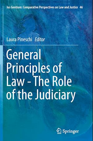 Bog, hæftet General Principles of Law - The Role of the Judiciary