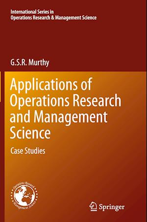 Bog, paperback Applications of Operations Research and Management Science af G. S. R. Murthy