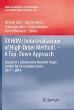 Idihom (Notes on Numerical Fluid Mechanics and Multidisciplinary Des, nr. 128)