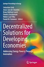 Decentralized Solutions for Developing Economies (Springer Proceedings in Energy)