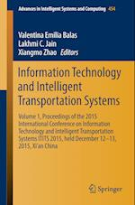 Information Technology and Intelligent Transportation Systems (Advances in Intelligent Systems and Computing, nr. 454)