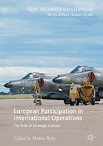 European Participation in International Operations (New Security Challenges)