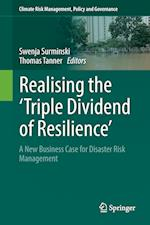 Realising the 'Triple Dividend of Resilience' (Climate Risk Management Policy and Governance)