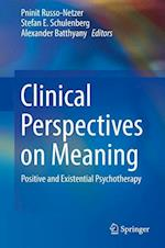 Clinical Perspectives on Meaning : Positive and Existential Psychotherapy