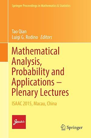 Mathematical Analysis, Probability and Applications - Plenary Lectures