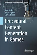 Procedural Content Generation in Games