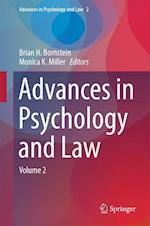 Advances in Psychology and Law af Brian H. Bornstein