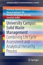University Campus Solid Waste Management (Springerbriefs in Environmental Science)