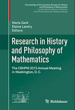 Research in History and Philosophy of Mathematics (Proceedings of the Canadian Society for History and Philosophy of MathematicsLa Societe Canadienne Dhistoire et de Philosophie des Mathematiques)