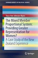 The Mixed Member Proportional System: Providing Greater Representation for Women? (SpringerBriefs in Political Science)