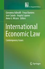 International Economic Law : Contemporary Issues