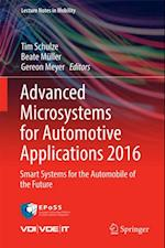 Advanced Microsystems for Automotive Applications 2016 (Lecture Notes in Mobility)