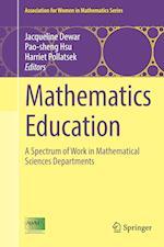 Mathematics Education (Association for Women in Mathematics Series, nr. 7)