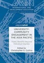 University-Community Engagement in the Asia Pacific (International and Development Education)