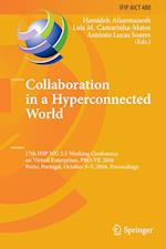 Collaboration in a Hyperconnected World (Ifip Advances in Information and Communication Technology, nr. 480)