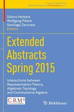 Extended Abstracts Spring 2015 (Trends in Mathematics, nr. 5)