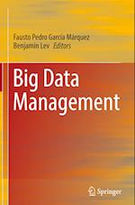 Big Data Management af Fausto Pedro Garcia Marquez