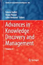 Advances in Knowledge Discovery and Management (Studies in Computational Intelligence, nr. 665)