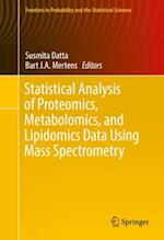 Statistical Analysis of Proteomics, Metabolomics, and Lipidomics Data Using Mass Spectrometry (Frontiers in Probability and the Statistical Sciences)