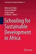 Schooling for Sustainable Development in Africa (Schooling for Sustainable Development, nr. 8)