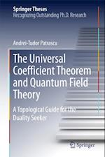 Universal Coefficient Theorem and Quantum Field Theory (Springer Theses)