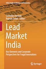 Lead Market India (India Studies in Business and Economics)