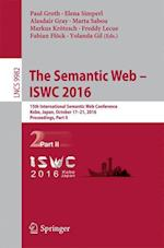 The Semantic Web - ISWC 2016 (Lecture Notes in Computer Science, nr. 9982)