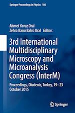 3rd International Multidisciplinary Microscopy and Microanalysis Congress (InterM) (SPRINGER PROCEEDINGS IN PHYSICS, nr. 186)