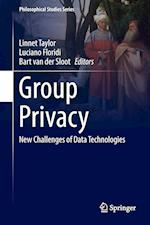 Group Privacy : New Challenges of Data Technologies