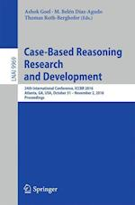 Case-Based Reasoning Research and Development (Lecture Notes in Computer Science, nr. 9969)