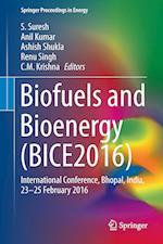 Biofuels and Bioenergy (BICE2016) : International Conference, Bhopal, India, 23-25 February 2016