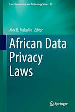 African Data Privacy Laws (Law, Governance and Technology Series, nr. 33)