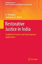 Restorative Justice in India (Springer Series on Asian Criminology and Criminal Justice Research)