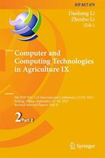 Computer and Computing Technologies in Agriculture (Ifip Advances in Information and Communication Technology, nr. 479)
