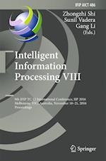 Intelligent Information Processing (Ifip Advances in Information and Communication Technology, nr. 486)
